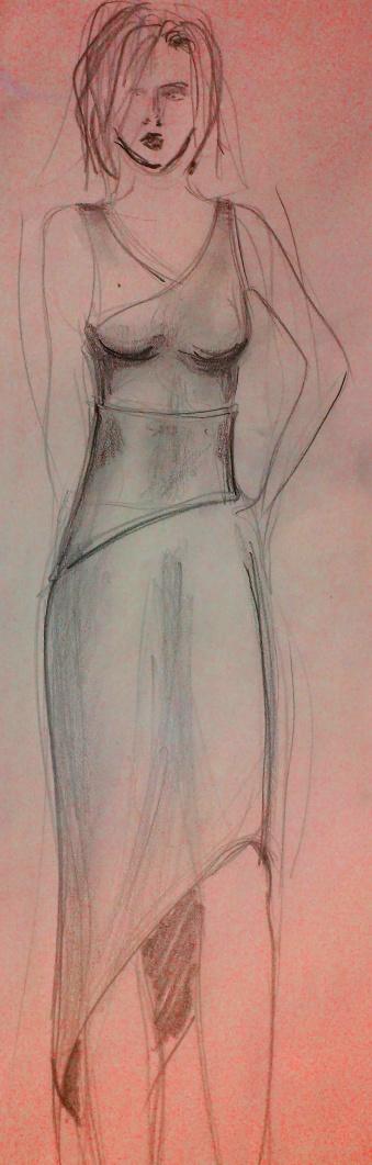fashion sketch davide medina 5
