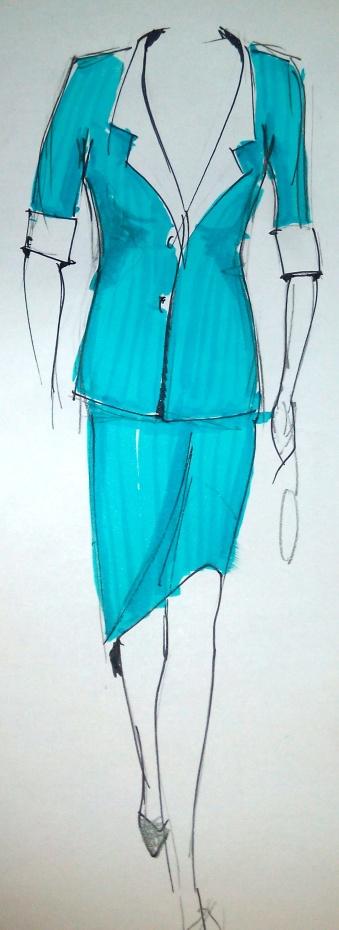 fashion sketch davide medina2